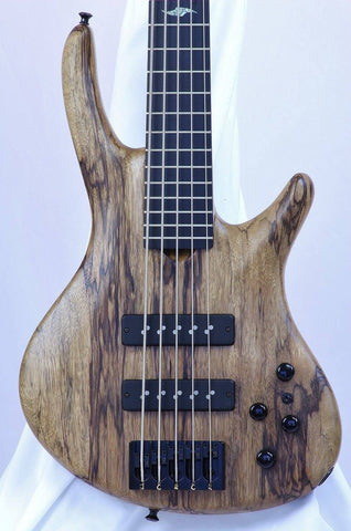 (SOLD) Roscoe Century Custom 5-String Fretted Bass