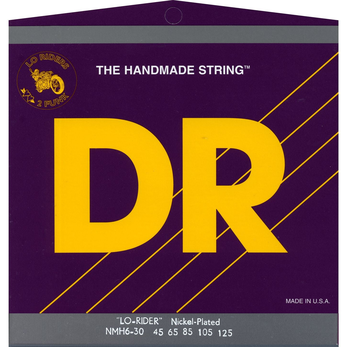DR LO-RIDER Nickel-Plated Bass Strings