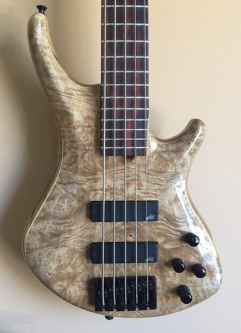 Roscoe SKB Custom 5-String Fretted Bass