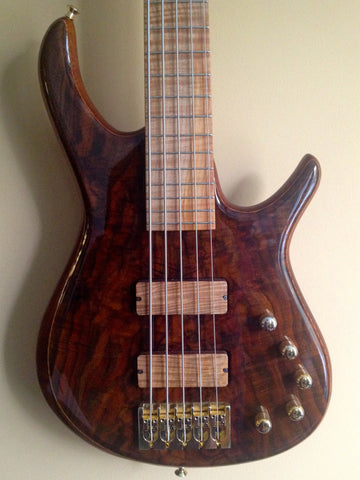 Pavel Gibor Deluxe 5-String Fretted Bass