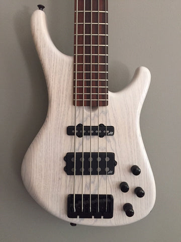 (SOLD) Roscoe LG Standard 5-String Fretted Bass
