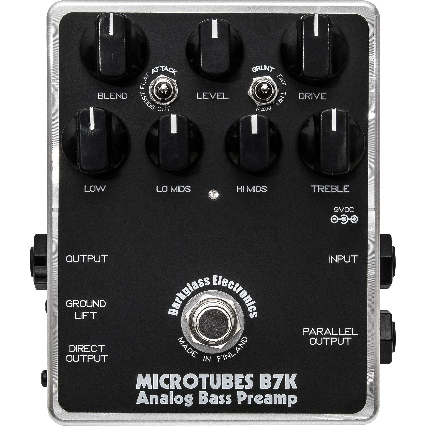B7K Analog Bass Overdrive/Preamp