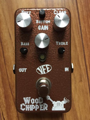 VFE Pedals Woodchipper Bass Fuzz (custom finish)