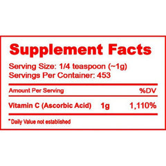 Vitamin C Powder - 1 lbs