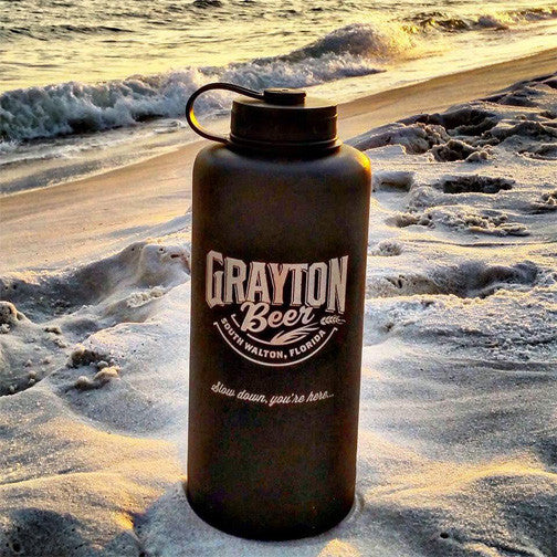 64 oz. Stainless Steel GBC Growler