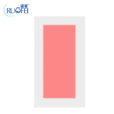20pcs=10sheets Red Color Summer Professional Hair Removal Double Sided Cold Wax Strips Paper For Leg Body Face