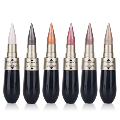 2 In 1 Double Eyeliner Liquid Waterproof Durable Eye Shadow Pen Creative Eye Shadow Combination Makeup Tool