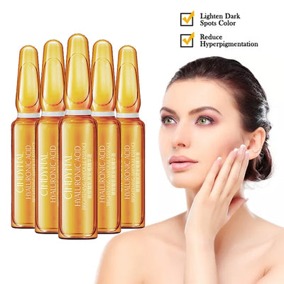 7Pcs 2ml Skin Care Dark Spot Corrective Ampoule Essence Set Collagen Anti Aging Wrinkle Fine Lines Serum Hydrating Smooth