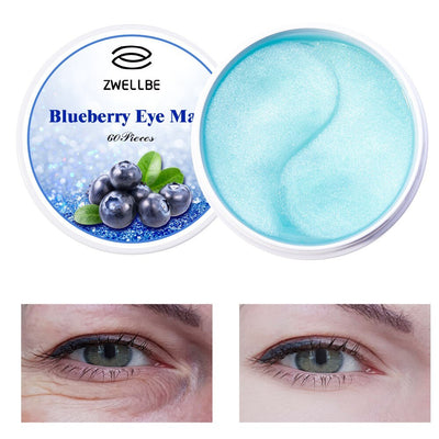 Collagen Gel Eye Mask 60pcs Whitening Anti Puffiness Eye Patches Face Care Anti Wrinkle Sleep Masks Remover Dark Circles