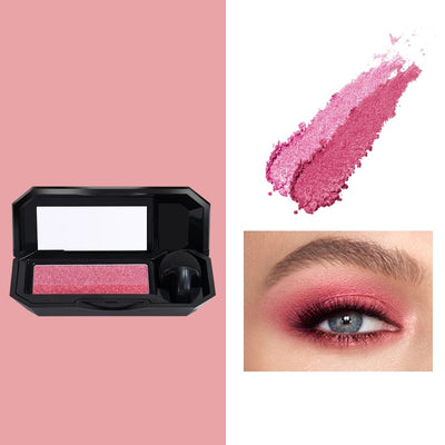 Double Color Lazy Eye Shadow Makeup Palette Glitter Palette Eyeshadow Pallete Waterproof Glitter Shimmer Cosmetics Tool