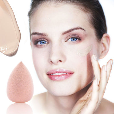 Fulljion Makeup Foundation Sponge Makeup Cosmetic puff Powder Soft Water Drop Shape Beauty Cosmetic Make Up Sponge Beauty Tools