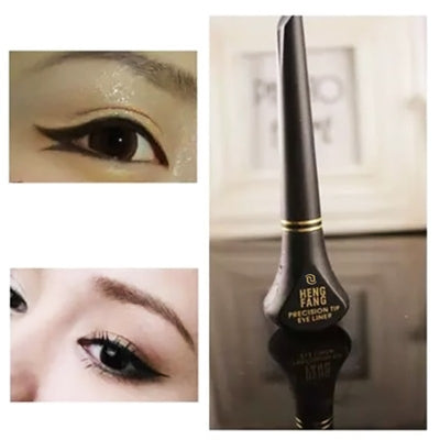 LEARNEVER New Black Makeup Cosmetic Waterproof Long Lasting Eye Liner Liquid Eyeliner Pencil Pen Beauty