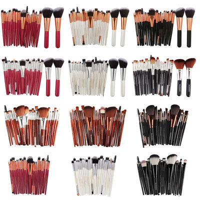 MAANGE 20/22Pcs Beauty Makeup Brushes Set Cosmetic Foundation Powder Blush Eye Shadow Lip Blend Make Up Brush Tool Kit