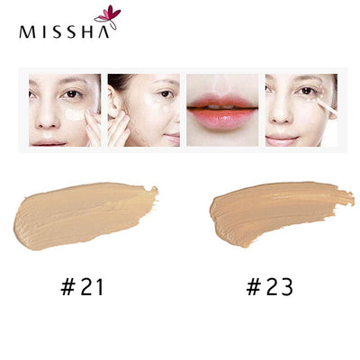 MISSHA Eye Concealer Cream Face Makeup the style under eyes brightener BB Creams