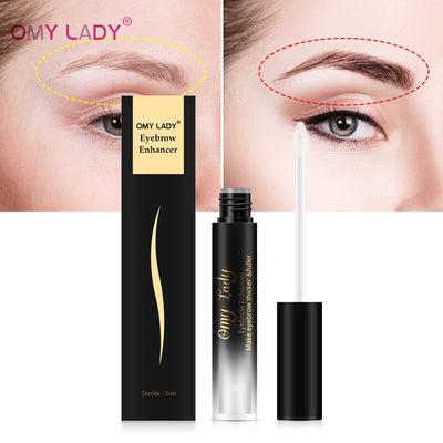 OMY LADY Eyebrow Enhancer Serum Natural Eyelash Growth Eyebrow Growth Liquid Longer Fuller Thicker Lashes Cosmetic Make Up