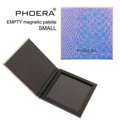 PHOERA Eyeshadow Magnetic Attraction Storage Box Case Makeup Pallete Eye Shadow Empty Magnetic Palette Glitter Patterns