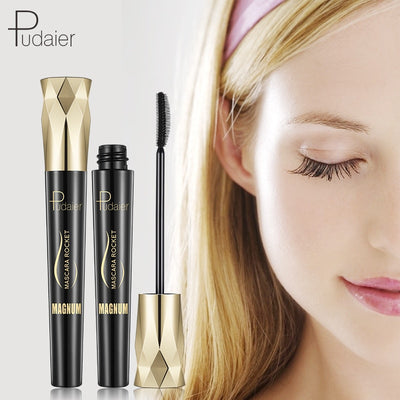 Pudaier 4D Charm Mascara Volume Waterproof Lash Extensions Makeup Silk Graft Growth Fluid Professional for Eye