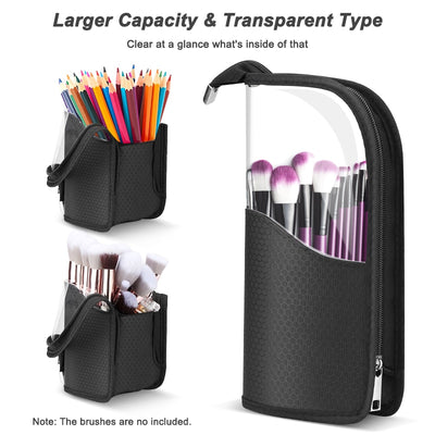 YBLNTEK Makeup Brush Holder Waterproof Case for Brush Organizer for Brushes Cosmetic Bag Makeup Pouch Bag Makeup Accessories