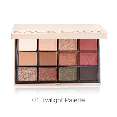 SACE LADY Eyeshadow Palette Makeup Glitter Eye Shadow Pallete Professional Matte Shadow Make Up High Pigment Nude Cosmetic