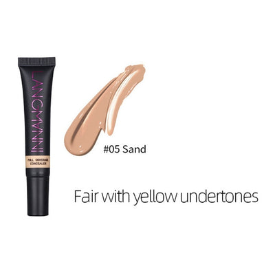 Concealer Cream Long Lasting Mineral Foundation Matte Base Professinal Makeup Cover Eye Dark Circles Face Smooth Texture