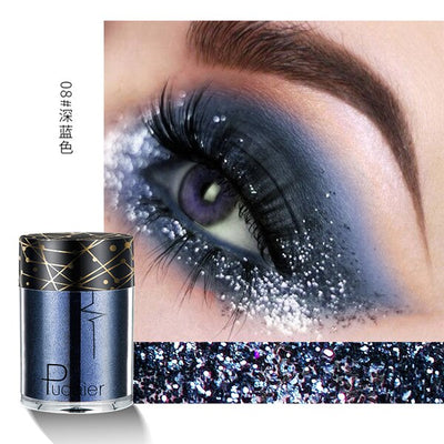 Shiny Ray Holographic Sequins Glitter Shimmer Pigment Eye Shadow Tattoo Lip Nail Body Glitter Festival Party Eye Makeup