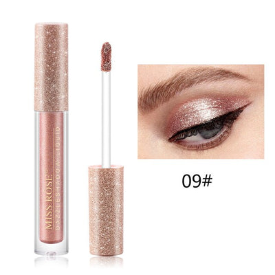 Glitter Eye Shadow Liquid Eye Shadow Pen Waterproof Long Lasting Shimmer Shine Metallic Liner Party Eye Cosmetic Make up