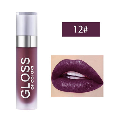 Abundance Lip Gloss Waterproof Long Lasting Sexy Lips Moisturizing Lip Makeup Lipstick Bright Colorful Non Stick Cup