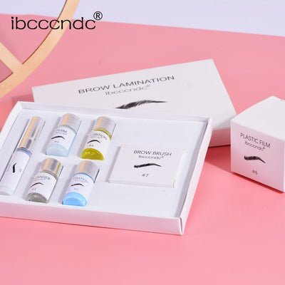 2020 Brow Lamination Kit Safe Brow Lift Eyebrow Lifting Protable Travel Kit Eyebrow Professional Beauty Salon Brow Lamination|Eyelash Growth Treatments