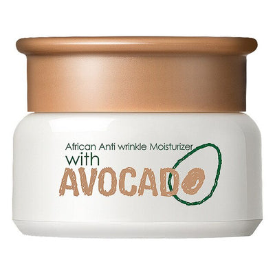Avocado Anti Wrinkle Face Cream Anti Aging All Type of Skin Hydrating Facial Lifting Firming Peptide Serum Day Night Cream