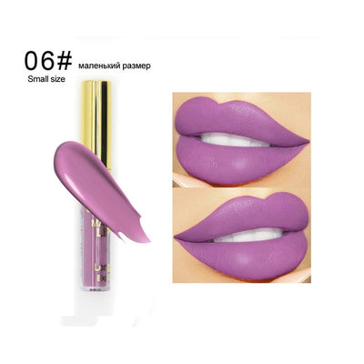 Waterproof Liquid Lipstick Makeup Matte Lip Gloss Long lasting Cosmetics Lip Stick Cream Silky Glosses Velvet Nude Lipgloss