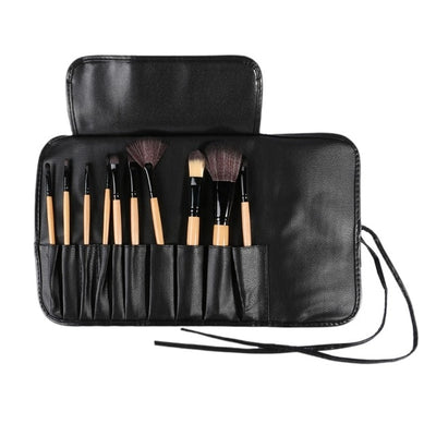 Makeup Brush Holder Travel Make Up Bag Waterproof Travel Case Cosmetic Makeup Brush Organizer Toiletry Mirror Case Pouch Brush