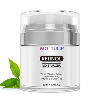 50ml Retinol 2.5%Moisturizer Face Cream Hyaluronic Acid AntiAging Remove Wrinkle Vitamin E Collagen Smooth Cream