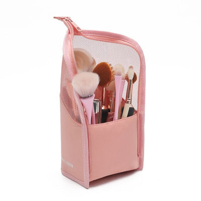 YBLNTEK Makeup Brush Holder Dust proof Case for Brushes Waterproof Travel Makeup Brush Case Storage Organizer Makeup Tools