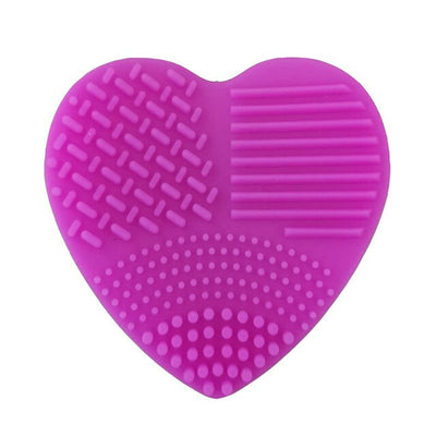 Makeup Brush Cleaning Pad Foundation Make Up Brush Scrubber Board Cleaning Mat Makeup Brush Cleaner Cosmetic Cleaning Tool