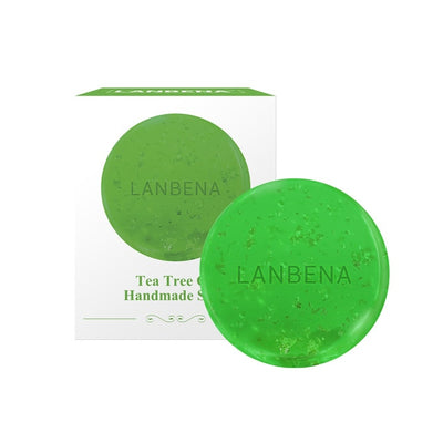 LANBENA 24K Gold Handmade Soap Hyaluronic Acid Face Cleaning Moisturizing Acne Treatment Repair Whitening Anti Aging Winkles