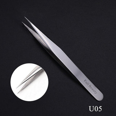 1pcs Eyelash Tweezers Clip Applicator all for Extension Rose Gold False Eyelashes Curler Clamp Beauty Auxiliary Tools
