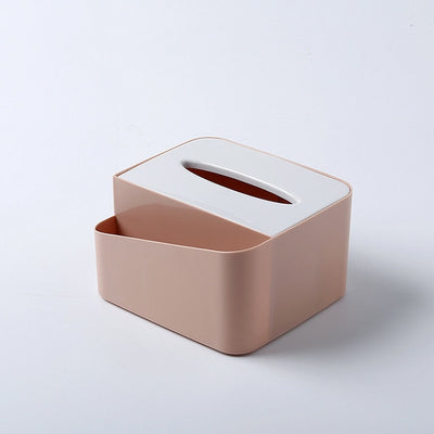 Cosmetic Organizer Tissue Box Office Storage Box Desktop Brush Holder Makeup Organiser Desk Home Sundries Container For Storage