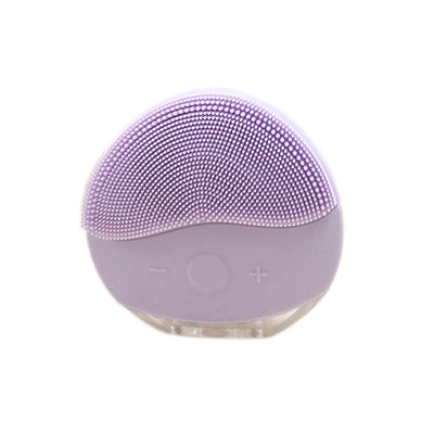 Mini USB Electric face Facial Cleansing Brush Silicone Sonic Cleaner Deep Pore Cleaning Waterproof Skin Massage