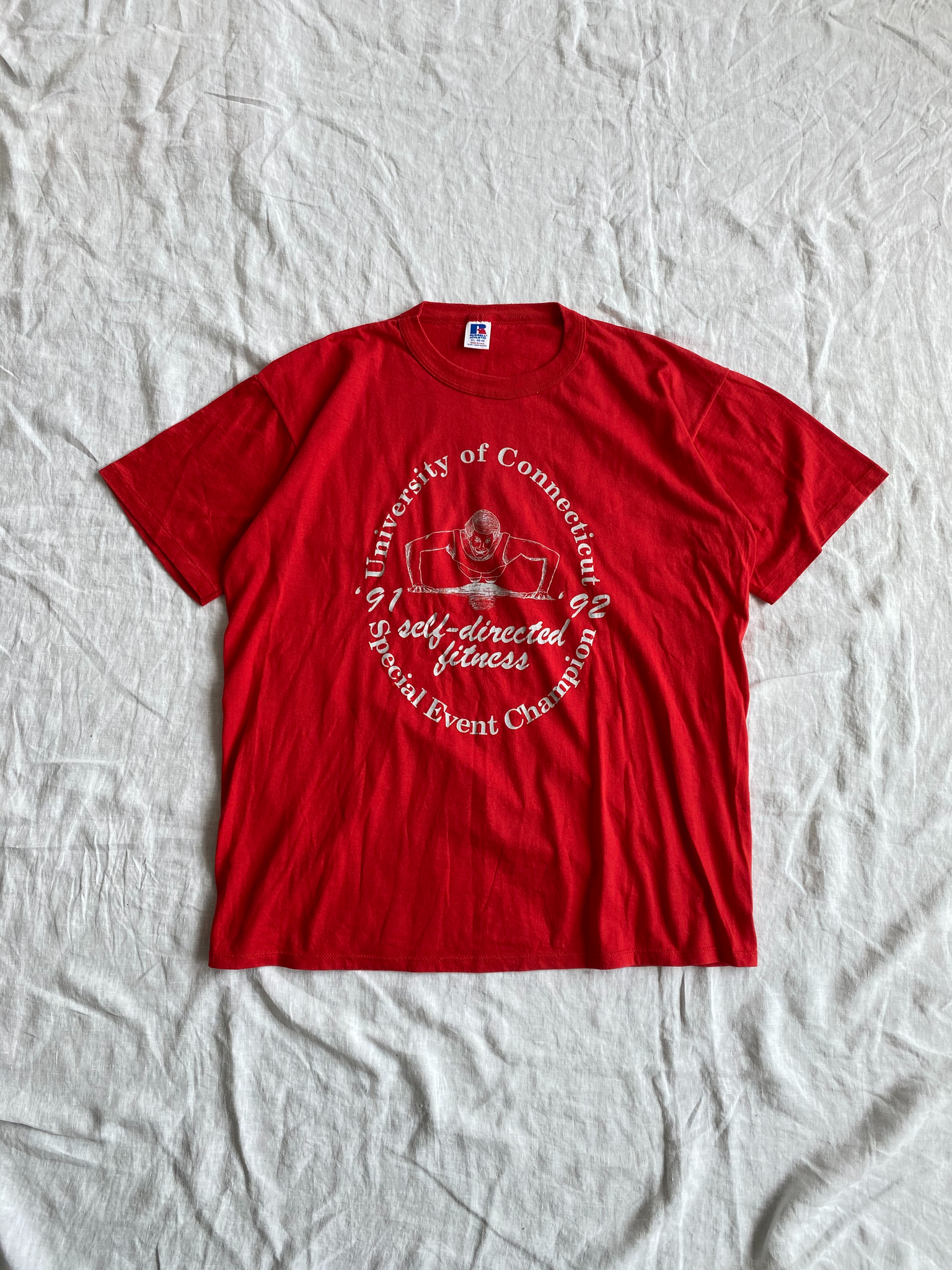 Red University of Connecticut Tee