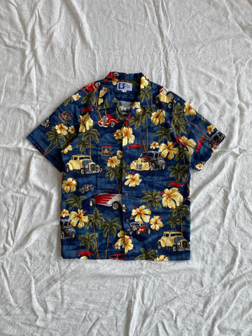 RJC Hawaiian Shirt - Navy Base