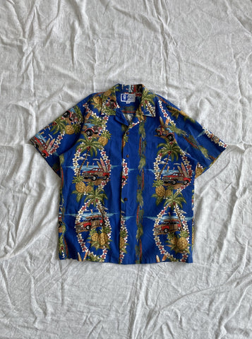 RJC Hawaiian Shirt - Blue Base