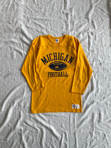 Yellow University of Michigan Football Jersey