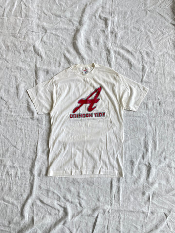 White University of Alabama Tee