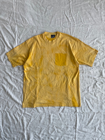 Yellow Pocket Tee