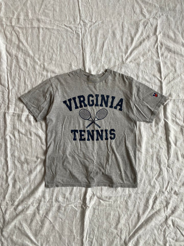 Virginia Tennis Heather Grey Tee Size M