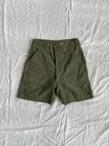 70s Cutoff Fatigue Shorts Size 29