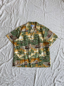 RJC Hawaiian Shirt - Yellow Base