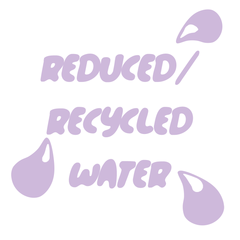 Reduced recycled water
