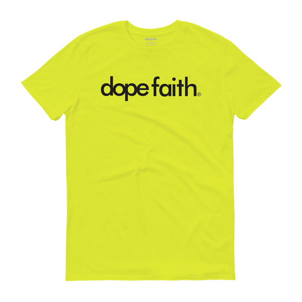 Dope Faith® Logo Definition Tee (Highlighter)