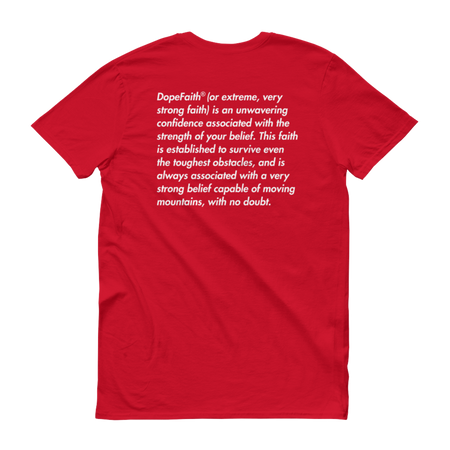 Dope Faith® Logo Definition Tee (Red)
